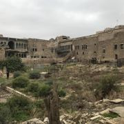 The cemetery of the Church of St. Thomas (above) in Mosul, Iraq, was badly damaged by Islamic State militants. The new grant awarded to the University of Pennsylvania will go toward stabilization and conservation of such culturally important sites.