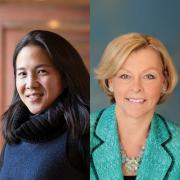 Angela Duckworth (l), Marci Hamilton