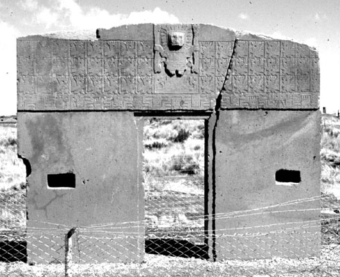 The Gateway of the Sun,  Tiwanaku