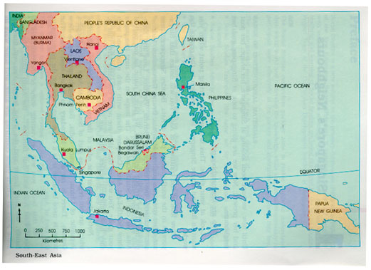 Map Of Asia Today.Images