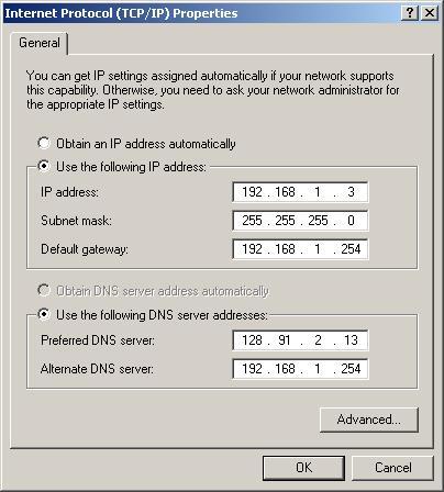 automatically assign ip address