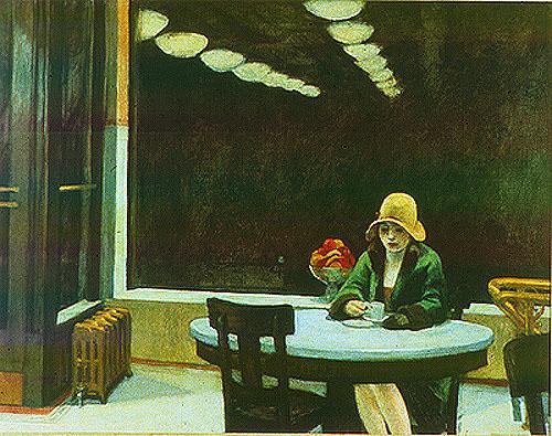 Main Street Auto >> Automat, Main Street, Office at Night