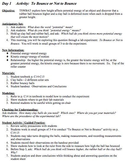 Sample Madeline Hunter Lesson Plan Template Madeline HunterS - Madeline hunter lesson plan template